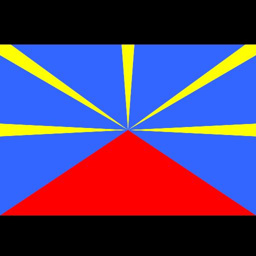 Реюньон flag