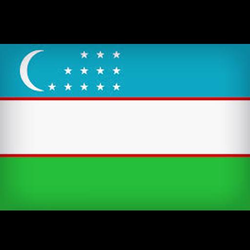 Узбекистан flag