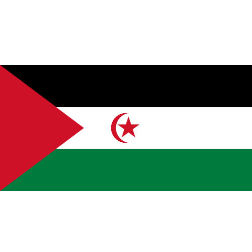 Sahara Occidental flag