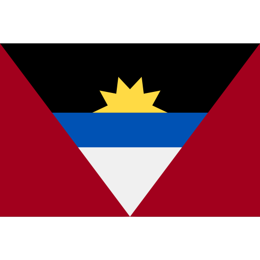 Antigua y Barbuda flag