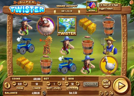 Super Twister Slot